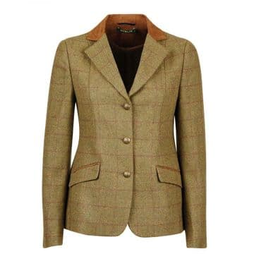Dublin Albany Tweed Suede Collar Tailored Ladies Jacket